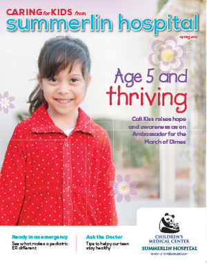 Caring For Kids Spring 2017 Cover Image