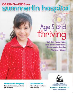 Imagen de tapa de la edición de primavera de 2017 de Caring for Kids