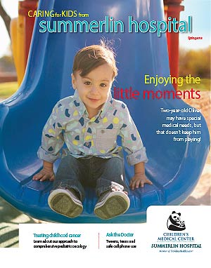 Caring for Kids Magazine Spring 2018 Cover