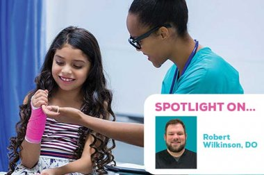 Spotlight on Robert Wilkinson, DO