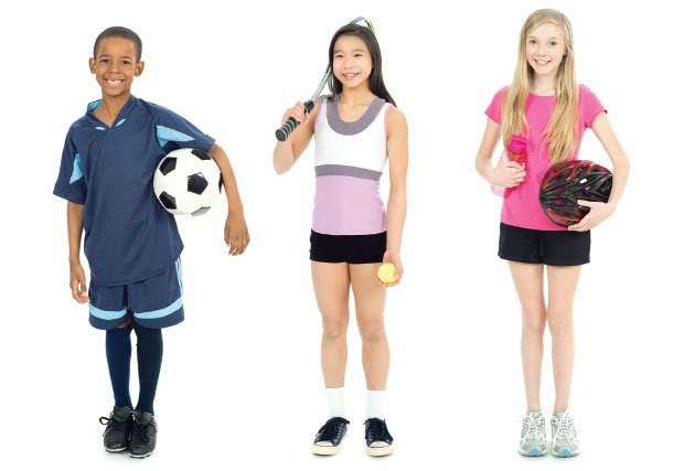 Active Kids - Importance of outdoor time for child and teen well-being
