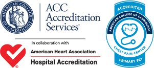 Chest Pain Center & PCI Accreditations