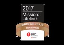 Mission: Lifeline STEMI Receiving Center Bronze Plus Award 2017